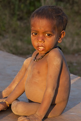 Baiga child (wietsej) Tags: baiga child konica minolta digital camera maikal hills chhattisgarh india maxxum dynax xi tribal rural village