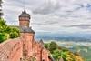 1000 years of history . haut koenigsbourg , Alsace , France (Mike Y. Gyver ( Organize in Albums)) Tags: d90 nikon nikkor18105 landscape clouds ciel contrast castel myg 2016 alscace france sky ruby5