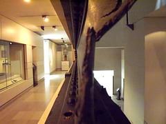 made from girders in Scotland (Joyce Waugh) Tags: iron grider scottish museum tay bridge dundee rail edinburgh rivets metal torn twisted