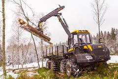 Ponsse Elephant King with T480 750/55-26.5 (TrelleborgAgri) Tags: trelleborg trelleborgtires pneumatici forestali forestry tires machine twin t440