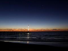 Brighton Jetty and Venus above (padraic_koen) Tags: venus brighton jetty adelaide southaustralia