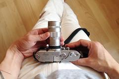 Morning chrome 🌞 🚀 (R.O.Y.G.B.I.V.) Tags: gearporn berlin leitz leica 90mm elmar photography 35mm film filmisnotdead phallus phallic cigar psychoanalysis bigdata chanyungco