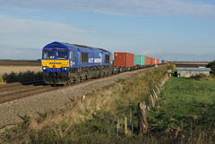 66727 Turves (Gridboy56) Tags: gm gbrf emd england europe turves uk march cambridgeshire railways railroad railfreight trains train locomotive locomotives maritime 4m29 birchcoppice 66727