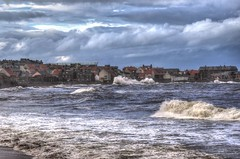 Stormy seas at Dunbar, Scotland (Baz Richardson (catching up again!)) Tags: scotland dunbar coast stormyseas northsea