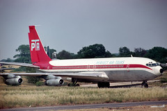 N714FC Boeing 707-321 Perfect Air Tours (pslg05896) Tags: n714fc boeing707 perfectairtours stn egss stansted