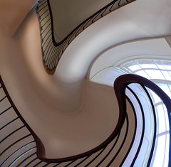 city days (Edinburgh Nette ...) Tags: architecture stairs staircases interiors galleries windows inverleith house structures dm ribbet