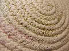 Stitches... (BAKAEDAR) Tags: macromonday stiches stitch stitches fruitbowl rope