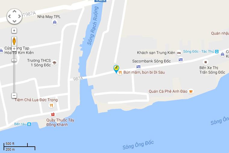Khai trương siêu thị Điện máy XANH Sông Đốc, Cà Mau