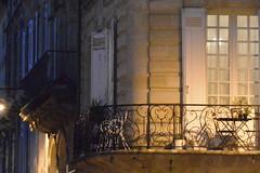 light at night (Hayashina) Tags: bordeaux france window light night balcony