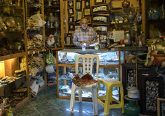 Old iranian man in his souvenirs shop, Isfahan province, Isfahan, Iran (Eric Lafforgue) Tags: 1people 50sadult abundance adult adultsonly bazaar bazar business colorimage dailylife esfahan hispahan horizontal indoors iran isfahan ispahan man merchandise middleeast middleeastern muslim onemanonly oneperson people persia photography seniorman sepahan sitting souvenirs tourism touristic travel isfahanprovince