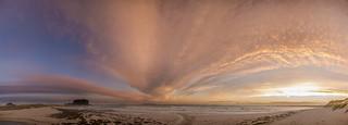 panorama plage de Lampaul