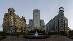 Canary Wharf 19th November 2016 (4 of 13) (johnlinford) Tags: canarywharf docklands e14 london londondocklands onecanadasquare panorama skyscraper
