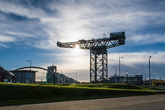 Finnieston Crane (@bill_11) Tags: scotland places glasgow finniestoncrane crane clyde clydeport canon g7xmkii