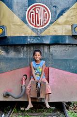 kazal1968 (kazal1968) Tags: kazal1968 kamlapur kamlapurrailwaystation dhaka streetphotography streetkid train transport bangladeshrailway