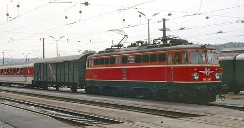 ÖBB electric loco 1042.603 Attnang-Puchheim