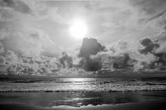 Horizon (Jockonarock) Tags: sun sunset beach ocean sea sand cloud reflection water horizon sky dusk bali kuta