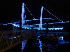 Bom Sucesso (cyclingshepherd) Tags: 2016 november novembro portugal algarve olhao olho bom sucesso caique barco boat christmas noel natal lights cyclingshepherd cmo reflection culatra reflections