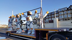 A Spaceman Came Travelling... (deltrems) Tags: blackpool fylde coast spaceman spacemen astronaut low loader lorry lights illuminations lancashire