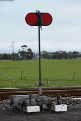 Switch Stand at Iluka Siding