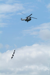 Military rescue exercise (cOs Plaza ) Tags: nikon fm2 nikkor 100300 ais