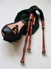 Custom-made smallpipes (Bagpipe Maker T. Sonoda) Tags: bagpipe dudelsack sackpfeife hmmelchen smallpipes gaita musette dudy germany bayern mnchen erding landshut