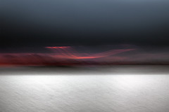line_3018 (Valerie Guseva) Tags: sea seascape abstract water waves light lights long exposure surreal icm impression crimea russia smooth smudge hypnotic outdoor sky ocean horizon nature landscape seaside shore line illusion warm silk blur focus black dark night minimalism grey blue lightpainting sunset white