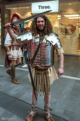Roman Soldier 21st January 2017 (Bob Edwards Photography - Picture Liverpool) Tags: liverpoolone shopping merseyside romansoldier e