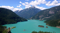Diablo Lake, WA (4K and 2K Wallpapers) Tags: wallpaper scenery widescreen hires wallpapers 169 4k 2k 3840x2160 2560x1440 wqhd
