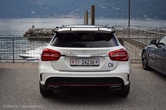 Edition 1. (Marco Leeuwestein) Tags: italy white lago mercedes benz 1 switzerland ticino hp harbour 360 45 maggiore edition ch amg gla luino