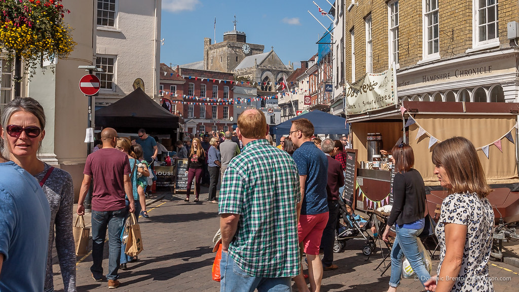 Romsey Food Festival in full swing