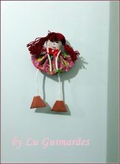 20150815_161723 (Artesanato com amor by Lu Guimaraes) Tags: artesanato fuxico decoração tecido enfeitecozinha