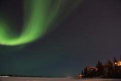 Northern Lights in Yellowknife (Elodie Ruelleux-Dagorne) Tags: canada lights northwest aurora northern territories borealis aurore yellowknife boréale