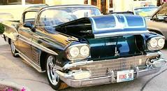 '58 Bonneville (Mark Herrera) Tags: summer cars illinois 1958 oldcars classiccars bonneville vintagecars eastdundee motormondays