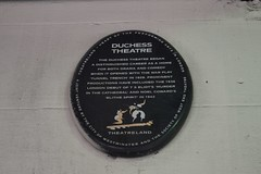 Duchess Theatre plaque (Matt From London) Tags: london plaque 1936 coventgarden 1942 1929 tseliot noelcoward theatreland blythespirit murderinthecathedral duchesstheatre
