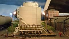 Brandstoffenhandel (Ignace Vanbiervliet) Tags: belgië ho treinen nmbs modelspoor modelbouw normaalspoor riddersbrugge