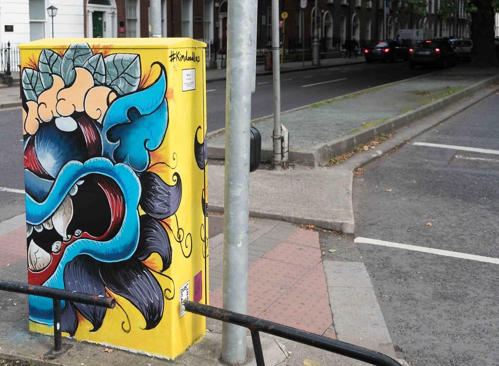 """""""Monty"""" By Kim Bale [Baggot Street Dublin Canvas Project 2015] REF-10805491"""