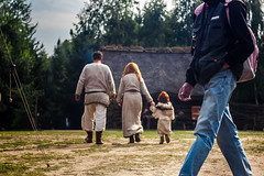 _MG_9202 Timetraveler (Sakuto) Tags: wood old family people panorama woman brown house man color tree green history nature grass forest buildings landscape ginger kid ancient colorful europe paradise european quiet peace technology view outdoor union middleeast culture progress peaceful social science panoramic stack system redhead human silence western homo civilization nordic agriculture archeology sapiens biskupin lusatian 1400bc