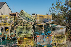 20150915 USA New England 01771 - Copy (R H Kamen) Tags: usa horizontal america outdoors photography trapped fishing day pattern order maine newengland nopeople cage stack backgrounds inarow lobstertraps lobsterpot colorimage largegroupofobjects fishingindustry animalthemes colourimage rhkamen
