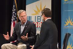 Jeb Bush speaks during a forum held by The LIBRE Initiative (FreezeTimeDigital) Tags: florida daniel governor republican garza jebbush presidentalcandidate collegeofsouthernnevada cheyennecampus