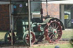 Hart Parr at School (Runabout63) Tags: school tractor hart parr alford