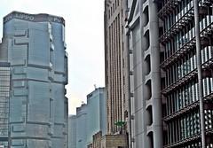 Hong Kong Central - Lippo Bank, Old Bank of China & HSBC (zorro1945) Tags: china hk hongkong asia central asie hsbc modernarchitecture lippo chine hongkongisland lippocentre honkers hsbcbuilding glasssteel hongkongcentral lippobank oldbankofchina