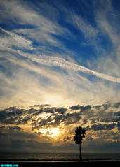 OctoberFourteenth2015 (mcshots) Tags: california autumn sunset sky usa beach weather fog clouds evening coast stock socal mcshots losangelescounty dockweilerstatebeach
