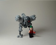 - THE CHIKEN - (SenSeiSei) Tags: lego military walker legos mecha mech