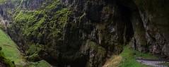 Machoca Abyss (marianagz) Tags: panorama green nature czechrepublic lush karst abyss moravia macocha