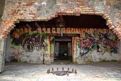 bunker club (Rasande Tyskar) Tags: art beach strand graffity bunker northsea dänemark danmark nordsee beton stahl westwall nordjylland jammerbucht