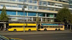 """BVG Traditionsbus """"Linie 100"""" 31.10.2015 (rieblinga) Tags: berlin linie 100 69 bvg traditionsbus 31102015"""