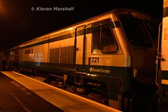 221 at Kildare, 31/10/15 (hurricanemk1c) Tags: irish train gm rail railway trains 221 railways irishrail 201 kildare generalmotors 2015 emd iarnród éireann iarnródéireann 1920heustoncork