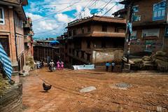 Morning at Bhaktapur, Nepal (yemaria) Tags: nepal nikon raw nikkor bhaktapur yemaria d800e