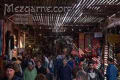 Following the crowd - Se laisser porter par la foule (Marie Aude) Tags: market crowd maroc marrakech souk marrakesh foule march suq