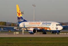 """Sun Express Germany Boeing 737-800 D-ASXP """"El Gouna Shuttle"""" (gooneybird29) Tags: airplane airport aircraft airline boeing flughafen muc flugzeug 737 sunexpress dasxp elgounashuttle"""